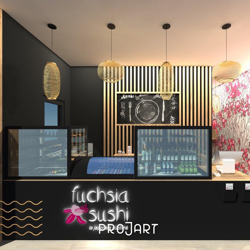 Fuchsia sushi - Sélestat