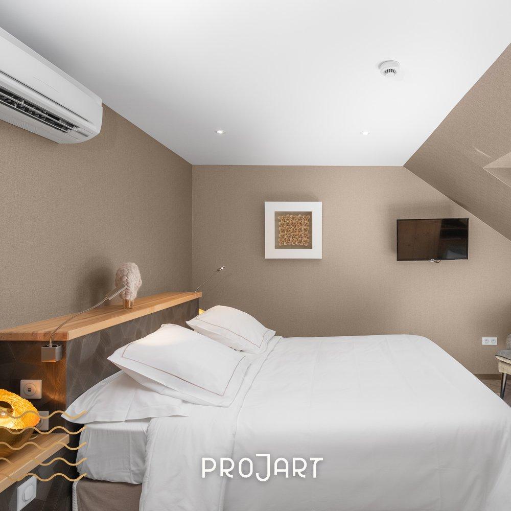 La Cheneaudière - Réaménagement des chambres sous combles