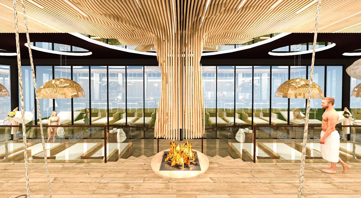 Hôtel Restaurant et Spa Julien - Salle de Repos 3D